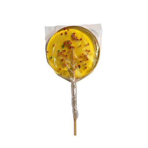 Карамельная медаль Чемпион ( наклейка, лента жёлтая )