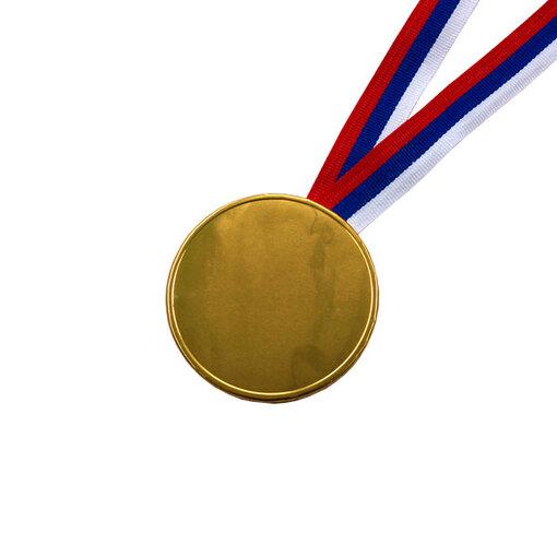 Шоколадные медали на ленте ( без изображения, лента триколор )